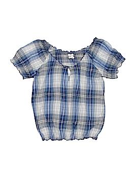 Girl Krazy Short Sleeve Blouse Size M (Youth)