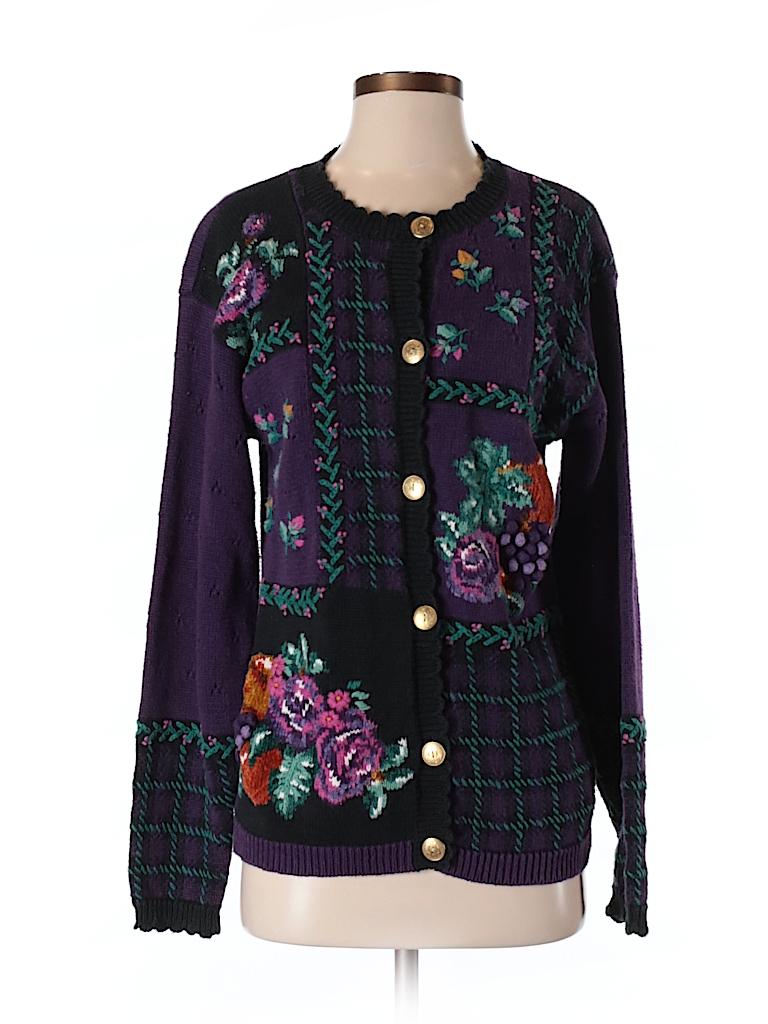 Jantzen Classics Women Cardigan Size S