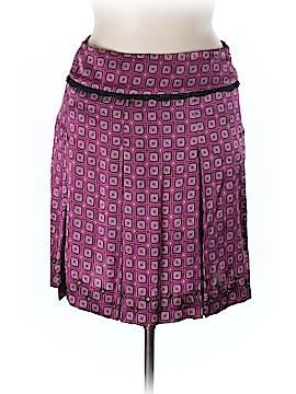 Etcetera Silk Skirt Size 14