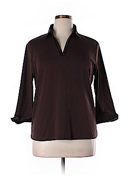 Draper's & Damon's Long Sleeve Top Size XL