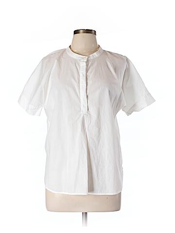 J. Crew Short Sleeve Button-Down Shirt Size L