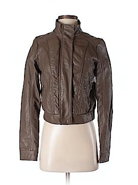 Harper Faux Leather Jacket Size S