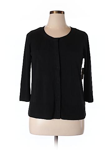 Coldwater Creek Silk Cardigan Size XL