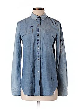 Barneys New York Long Sleeve Button-Down Shirt Size S