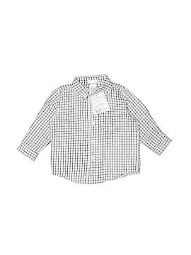E. Land Long Sleeve Button-Down Shirt Size 6-12 mo