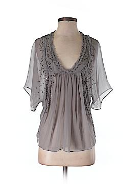 Saivana Short Sleeve Silk Top Size XS