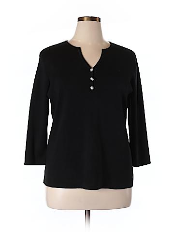 Talbots Silk Pullover Sweater Size 1X (Plus)