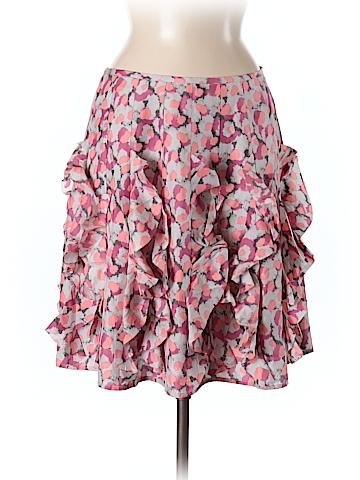 Garnet Hill Women Silk Skirt Size 6