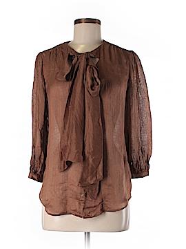 Ralph Lauren 3/4 Sleeve Silk Top Size 6