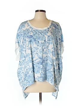 Diane Gilman Short Sleeve Top Size L