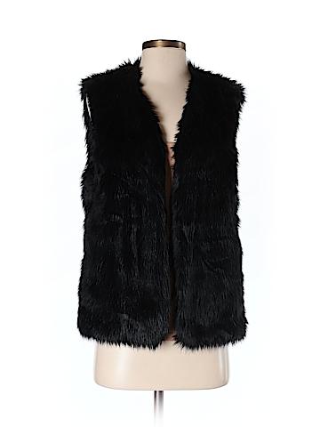 WAYF Women Faux Fur Vest Size XS