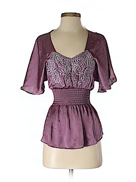 Arden B. Short Sleeve Blouse Size XS