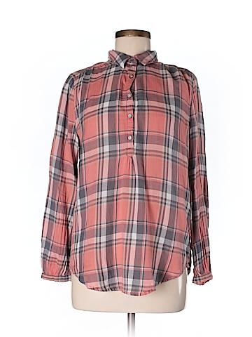 Lucky Brand Women Long Sleeve Button-Down Shirt Size M
