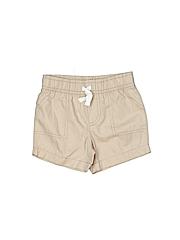 Carter's Boys Khaki Shorts Size 6 mo