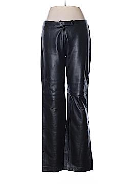 BCBGMAXAZRIA Leather Pants Size 8