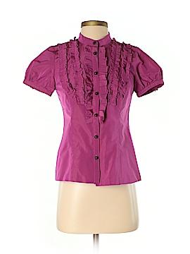 Cynthia Cynthia Steffe Short Sleeve Blouse Size 4