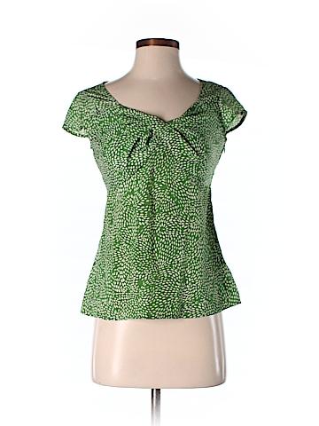 Ann Taylor LOFT Short Sleeve Blouse Size 2 (Petite)