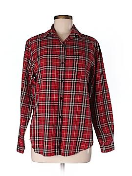 Evan Picone Long Sleeve Button-Down Shirt Size 6