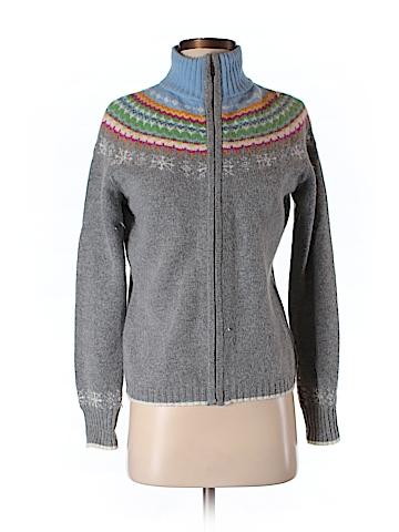 Eddie Bauer Women Wool Cardigan Size S