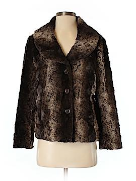 Erin London Faux Fur Jacket Size S