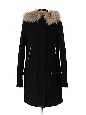J. Crew Wool Coat Size 2 (Tall)