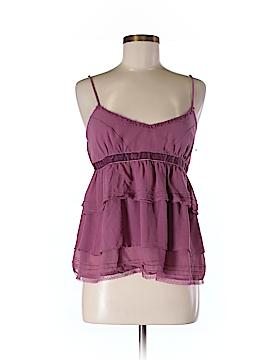 Eloise Sleeveless Silk Top Size M