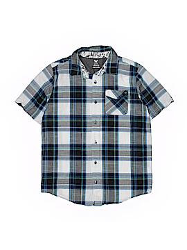 Shaun White Short Sleeve Button-Down Shirt Size 12 - 14