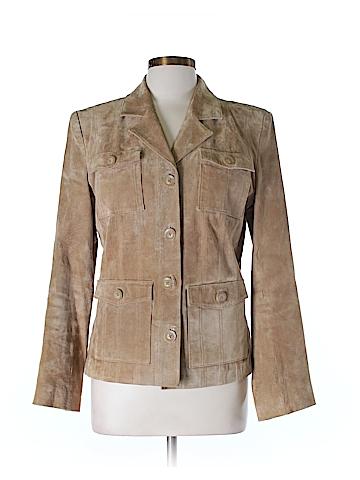Mossimo Leather Jacket Size M