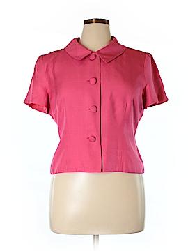 Donna Morgan Silk Blazer Size 14