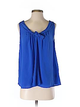 Greylin Sleeveless Silk Top Size S