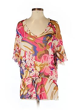 Costa Blanca Short Sleeve Blouse Size S