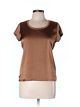 Vince Camuto Short Sleeve Blouse Size L (Petite)