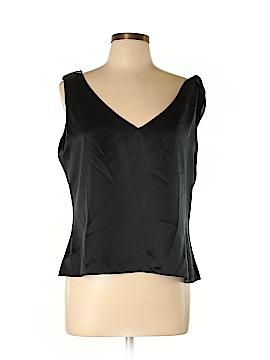 Lauren by Ralph Lauren Sleeveless Silk Top Size L