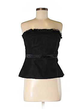 White House Black Market Sleeveless Silk Top Size 8