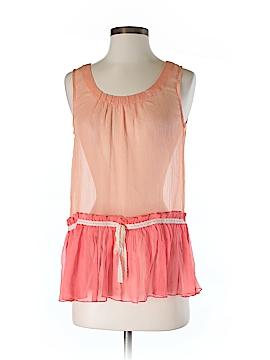 Hem & Thread Sleeveless Blouse Size S