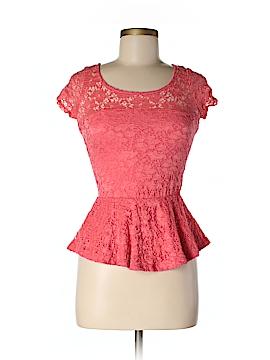 Aqua Short Sleeve Top Size M (Youth)