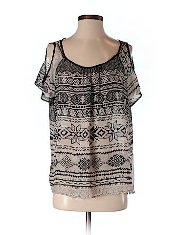 Cecico Women Short Sleeve Blouse Size S