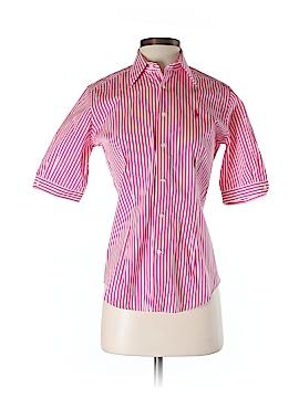 Ralph Lauren Sport Short Sleeve Button-Down Shirt Size 2