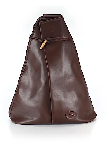 Longchamp Women Leather Backpack One Size