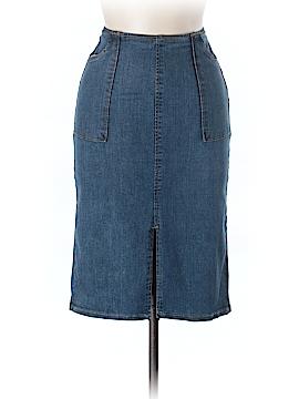 Who What Wear Denim Skirt Size 2
