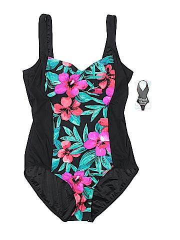 Beach Diva One Piece Swimsuit Size 16