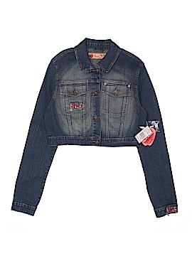 Apple Bottoms Denim Jacket Size L (Youth)