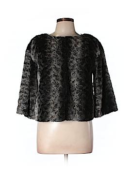 Adrienne Vittadini Faux Fur Jacket Size 10