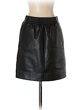 Ann Taylor LOFT Faux Leather Skirt Size XXS