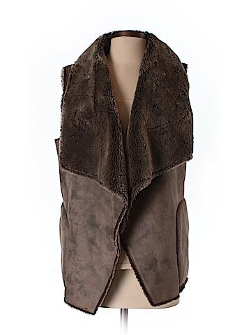 Velvet Women Faux Fur Vest Size S