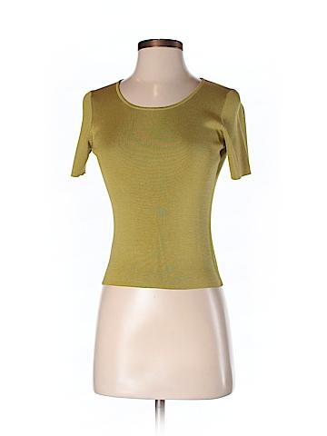 Ann Taylor LOFT Short Sleeve Silk Top Size XS