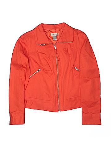 TRANSITIONS Women Denim Jacket Size M