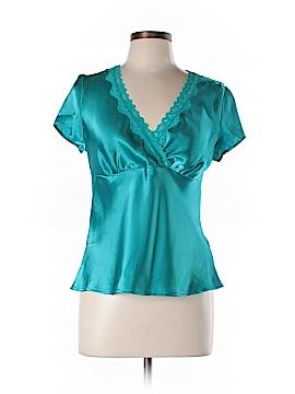 I.N. Studio Short Sleeve Blouse Size L (Petite)