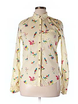 Hollister Long Sleeve Button-Down Shirt Size 16