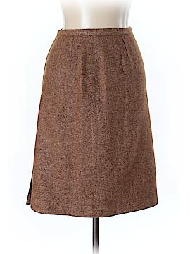 Valentino Miss V Wool Skirt Size 44 (EU)